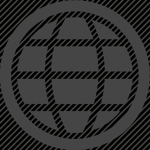 global, network, travel, world icon
