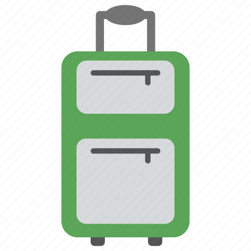 airport baggage, locked suitcase, luggage, luggage to travel, traveling bag icon