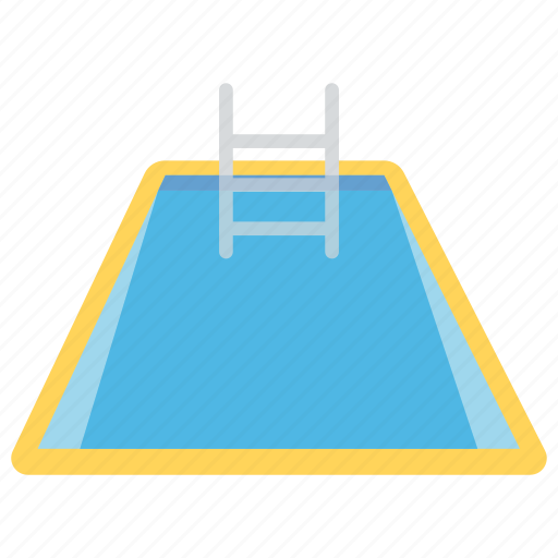 fitness, health care, summer fun, swimming pool, water sports icon