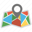 gps., location finder, map, map marker, pinpointer icon