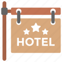 hotel finder ant, hotel sign board, luxury hotel, rest house, tourist accommodation icon