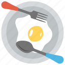 breakfast, fried egg, good day, healthy food, morning meal icon
