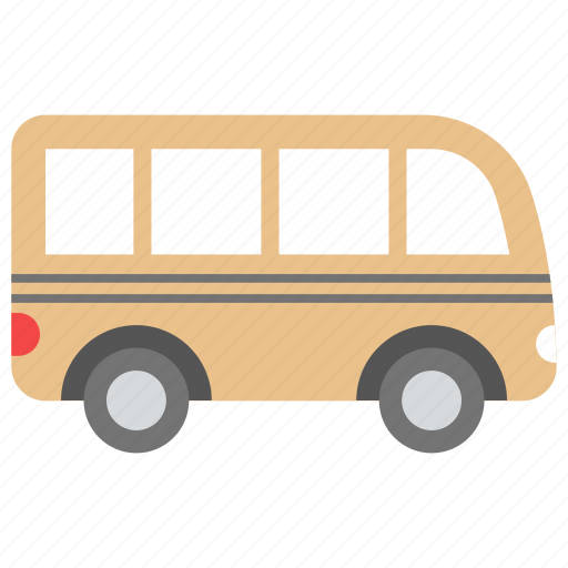 bus, road travel, road vehicle, van travel, wagon icon