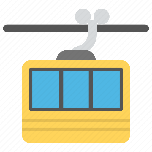 adventure travel, aerial lift, cable car, chair lift, ski lift icon
