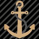 nautical ship tool, sailing anchor, sailing boat, sea and sailing, ship tools icon