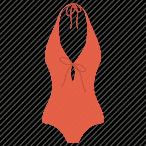 ladies swim suit, sunbathing, swimming costume, water based activity, water bath icon
