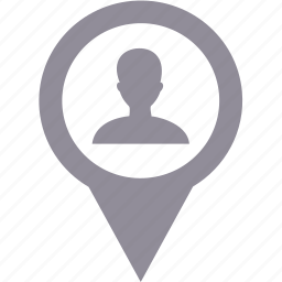 avatar, map, navigation, travel, user icon