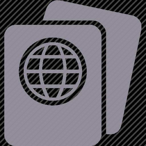 border, passport, traffic, travel icon