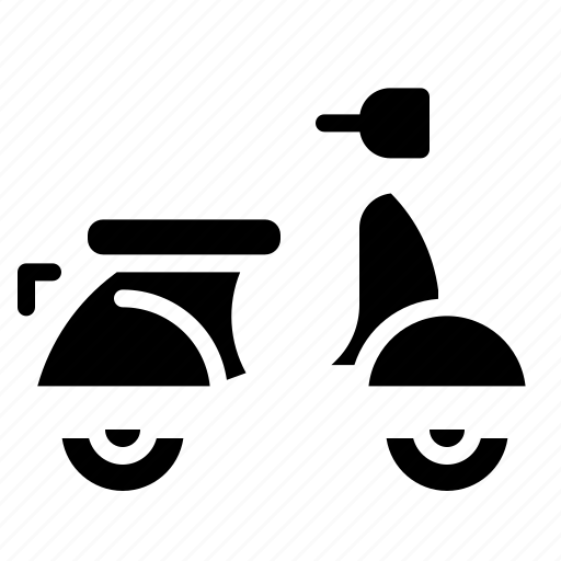 Motorcycle, scooter, transportation, vespa, vintage icon - Download on Iconfinder