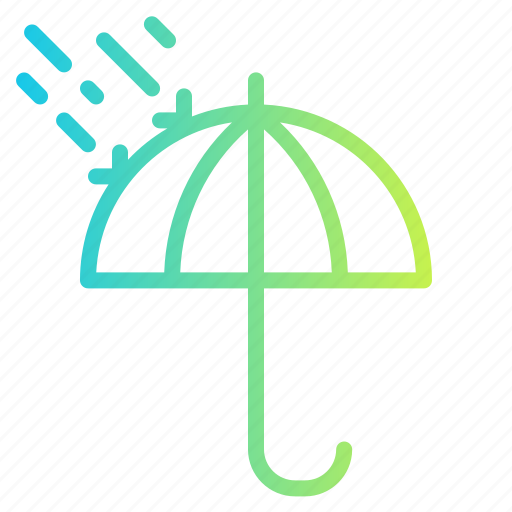 Beach, rain, summer, umbrella, weather icon - Download on Iconfinder