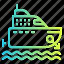 boat, cruise, marine, ship, yacht