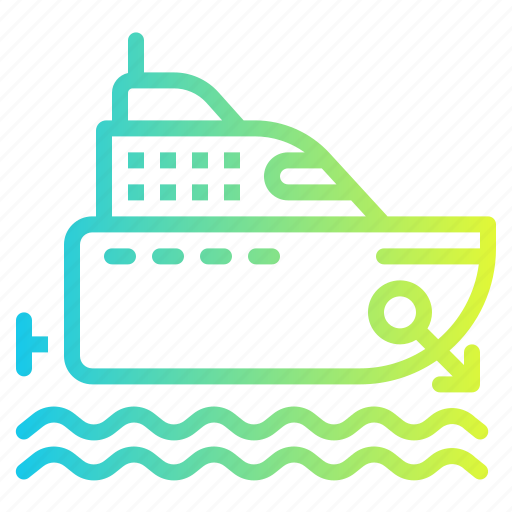 Boat, cruise, marine, ship, yacht icon - Download on Iconfinder