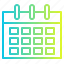 calendar, date, plan, schedule icon