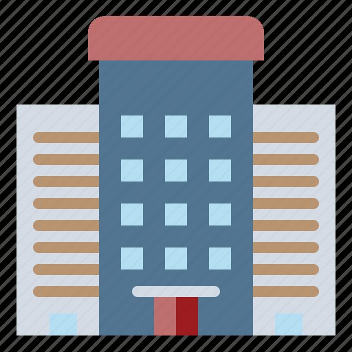 Architecture, estate, exterior, hotel, urban icon - Download on Iconfinder