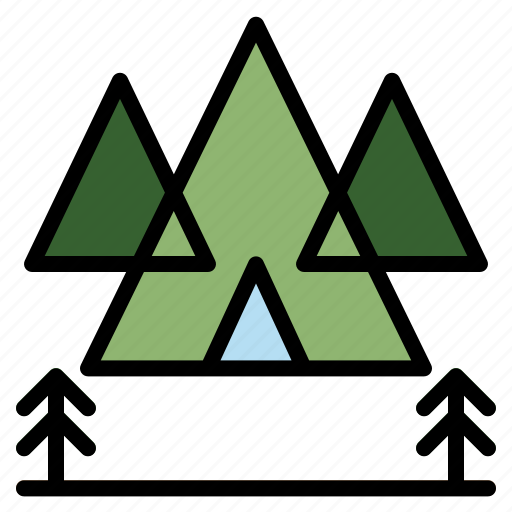 adventure, camping, outdoor, picnic, tent icon