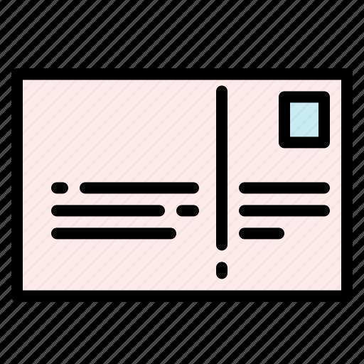 Card, letter, mail, postcard, stamp icon - Download on Iconfinder