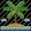 beach, ecology, garden, island, landscape, nature, sun icon