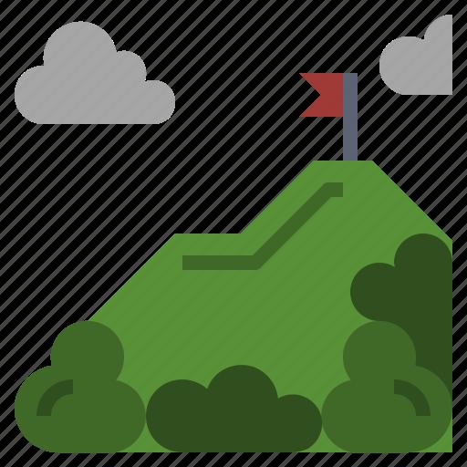 altitude, flag, landscape, mountain, mountains, nature, snow icon