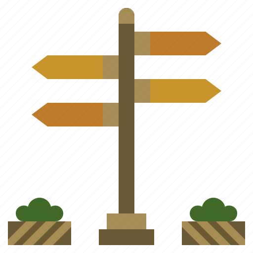 address, directions, miscellaneous, orientation, post, sign, signs icon