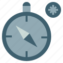compass, cursor, direction, gps, interface, navigation, technology icon
