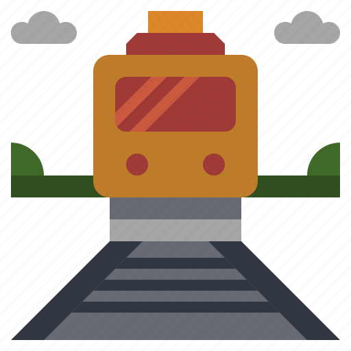 public, railway, subway, train, transport, transportation, vehicle icon