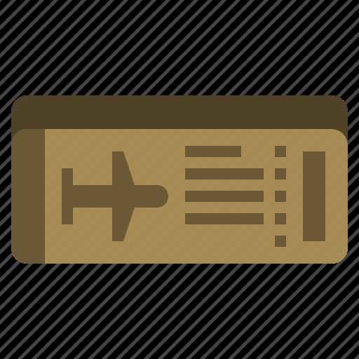 boarding, holidays, pass, ticket, transportation, travel, vacation icon