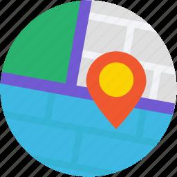 location marker, location pin, location pointer, map locator, map pin icon