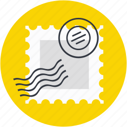air mail, post stamp, post ticket, postage stamp, stamp icon