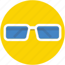 eyeglass, glasses, shades, spectacles, sunglasses icon