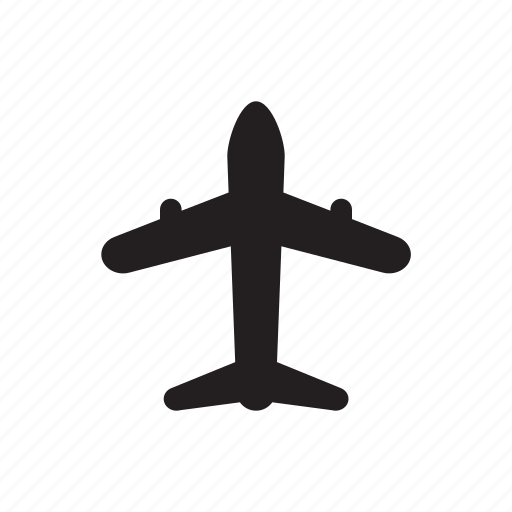 aircradt, fly, plane, sky, transportation, travel icon