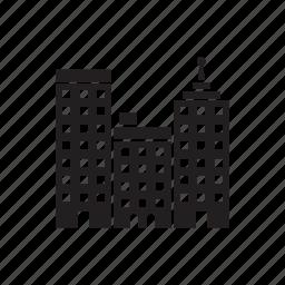 building, business, centre, view, viewcity icon