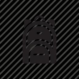 backpack, bag, education, school, tourist, transport, travel icon