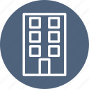 building, construction, home, hotel, service icon