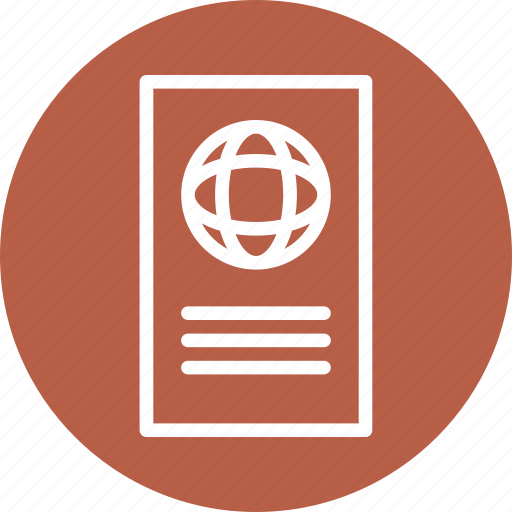 earth, globe, information, map icon