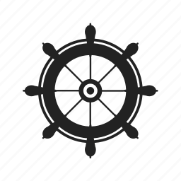 boat, captain, control, marine, maritime, nautical, naval, pirate, ship, wheel icon