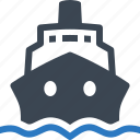 boat, ship, travel, vacation icon