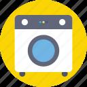 electrical appliance, electronics, home appliance, laundry machine, washing machine icon