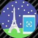 capture photo, eiffel tower, france, landmark, monument, paris icon