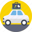 automobile, car, journey, transport, travel icon