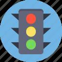 traffic lamps, signal lights, traffic signals, traffic lights, traffic semaphore icon