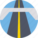 highway, path, road, route, thoroughfare icon