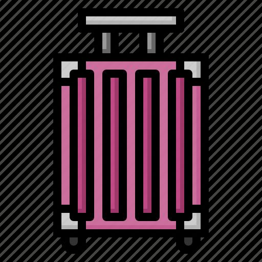 bag, luggage, tag, travel icon