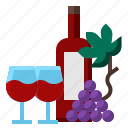 alcohol, glass, travel, wine icon