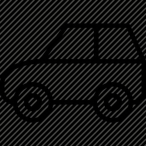 automobile, car, journey, transport icon