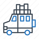 car, holiday, tourism, travel, vacation icon