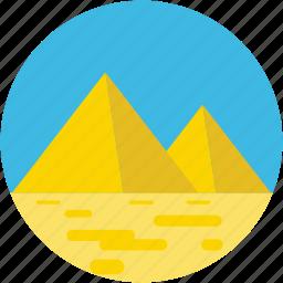 egypt, egypt pyramids, giza pyramid, monument, pyramid icon