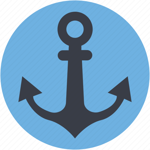 anchor, boat anchor, nautical, navigational, ship anchor icon