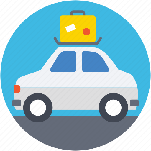 automobile, car, journey, transport, travel icon