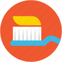 dental cleaning, dentist, hygiene, toothbrush, toothpaste icon