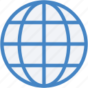 global network, globe, planet, world map, worldwide icon
